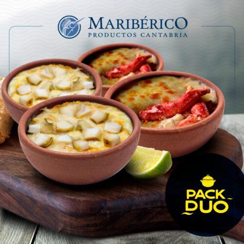 Pack Duo – 2 Pasteles De Centolla + 2 CHUPE DE LOCO