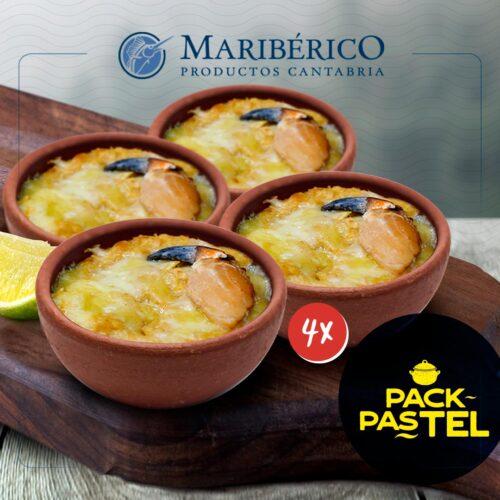 Pack Pastel – 4 Pasteles De Jaiba