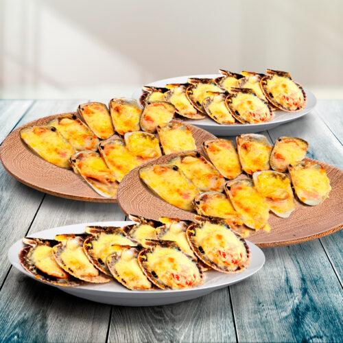 Pack Parmesano – 24 Machas + 16 Ostiones A La Parmesana